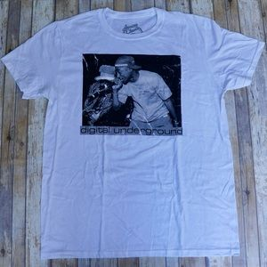 2 Pac Tupac Shakur Men's Size Large White T-Shirt